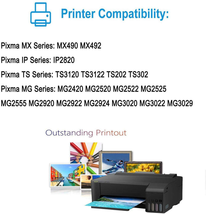 NineLeaf Remanufactured High Yield Ink Cartridge Compatible for Canon CL-246XL 246XL Pixma MX492 MG2920 MG2520 iP2820 MG2922 MG2420 MG2522 MG3022 MG2924 Printer (Tri-Color,1 Pack)