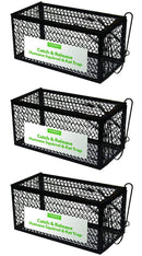 Harris Catch & Release Humane Cage Trap for Rats, Chipmunks, and Small Squirrels (2-Pack)