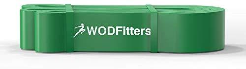 WODFitters Pull Up Assistance Bands - Stretch Resistance Band - Mobility Band - Powerlifting Bands, Durable Workout/Exercise Bands - Single Band or Set