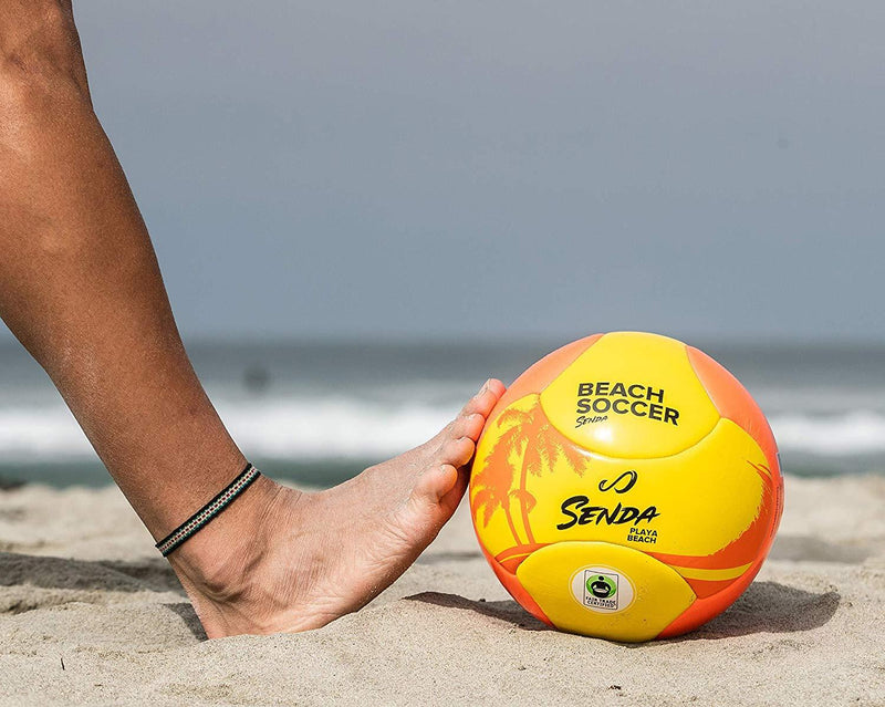 Senda Playa Beach Soccer Ball, Fair Trade Certified, Orange/Yellow