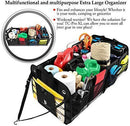TRUNKCRATEPRO Collapsible Portable Multi Compartments Trunk Organizer, Gray