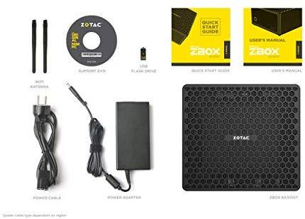 ZOTAC Magnus EC52070D Super Compact Mini PC GeForce RTX 2070, Intel Core i5-8400T 6-core Processor, Killer Networking, 8GB DDR4/128GB SSD/1TB HDD Windows 10 Home 64-bit System, ZBOX-EC52070D-U-W2B