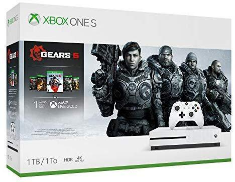 Xbox One X 1Tb Console - Gears 5 Limited Edition Bundle