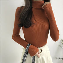 Women Knitted  Sweater Long Sleeve