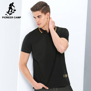 Pioneer Camp new casual summer polo shirt men - Humble Ace