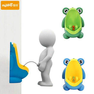Potty Toilet Training Frog Vertical Urinal  Wall-Mounted