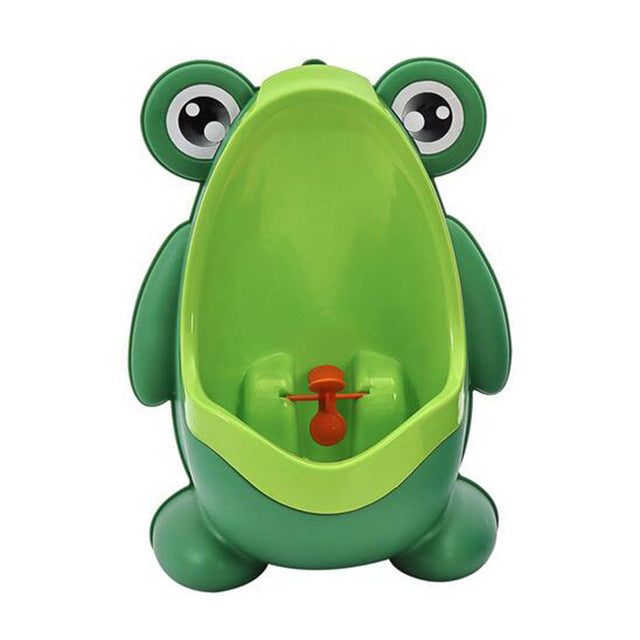 Potty Toilet Training Frog Vertical Urinal  Wall-Mounted - Humble Ace
