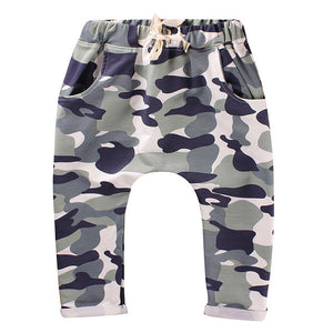 Kids pants Camouflage Print - Humble Ace