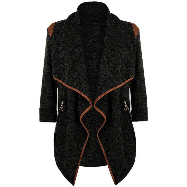 Winter Coat - Vintage Knitted Long Cardigan - Humble Ace