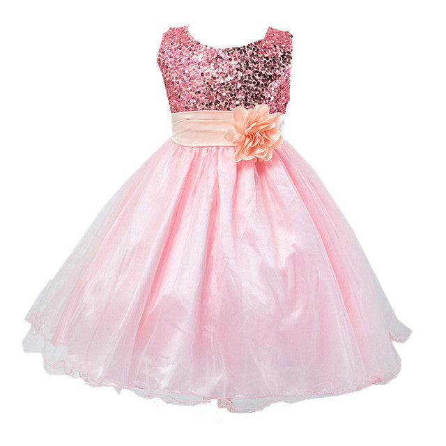 Girl's Party Princess Dress 5 colors - Humble Ace