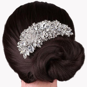 Boutique Bridal Wedding Flower Hair Comb Hair Pins - Humble Ace