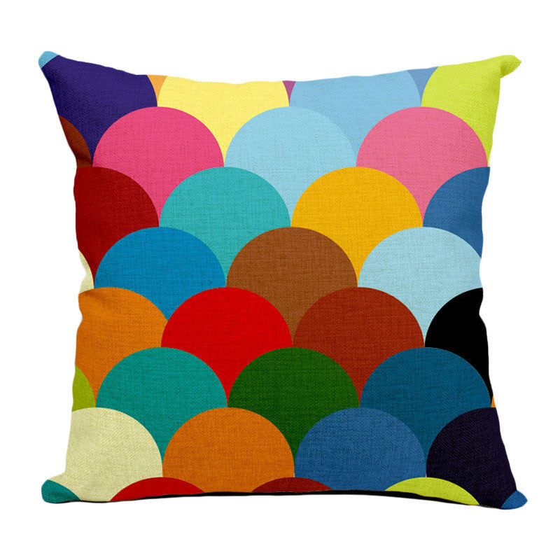 Geometry Art Throw Pillow Covers - Humble Ace