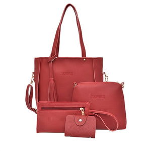 4Pcs Women Bags Set - Humble Ace