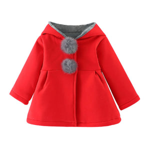 Girls Winter Coat Thick Warm Clothes