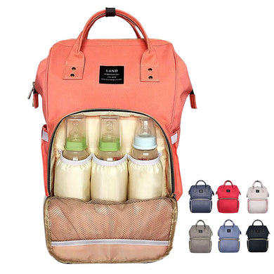 Multi function baby care waterproof diaper bag