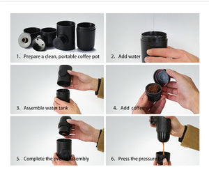 Minipresso  Portable Espresso Machine - Humble Ace