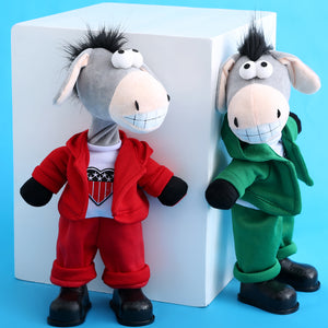 Dancing Singing Toy Donkey Plush Toy - Humble Ace