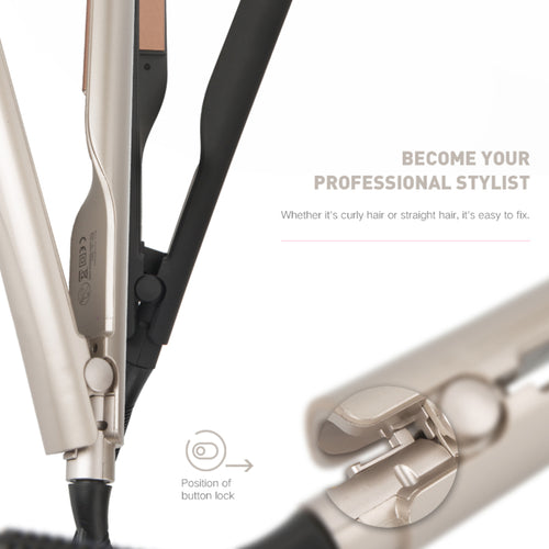 Professional Curler 2 in 1