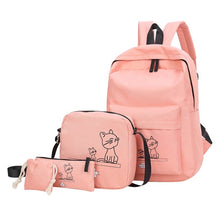 Backpack Cute Cat (4 Pcs)