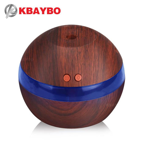USB Ultrasonic Humidifier 290ml Aroma Diffuser Essential Oil