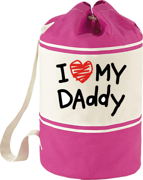 Sailor Canvas Bag - I Love My Dad - The Poacher Online