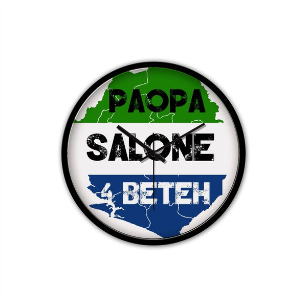 Paopa SL 4 Beteh Non-Ticking Silent Wall Clock with Modern & Nice Design - The Poacher Online