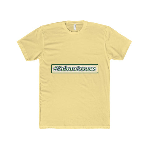 Salone Issues Men's Cotton Crew Tee