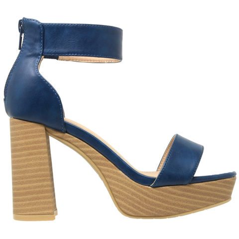 Ankle Strap High Heel Platform Sandal - The Poacher Online
