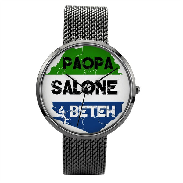 Paopa SL 4 Beteh Waterproof Quartz Fashion Watch With Casual Stainless Steel Band - The Poacher Online