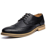 Mens British Style Lace Up Oxford Shoes - The Poacher Online