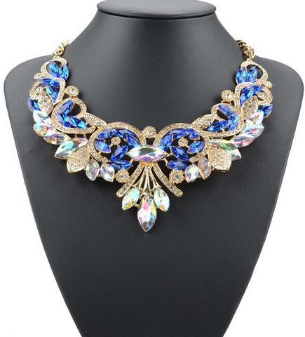 Alloy Flowers Female Necklace - The Poacher Online