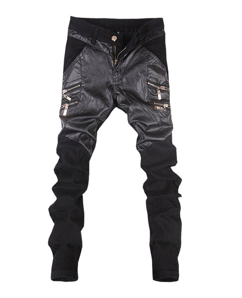 Skinny Leather Pants - The Poacher Online