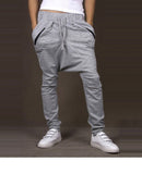 Zipper Harem Sweatpants - The Poacher Online