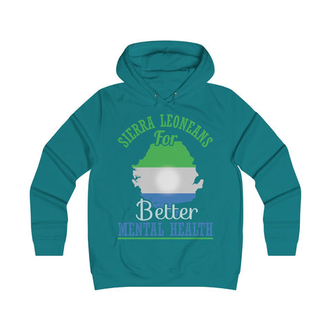 Sierra Leoneans for Mental Health Girlie Hoodie