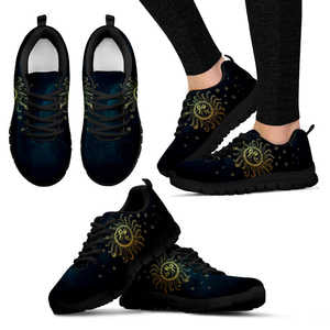 Limited Edition Black sole sneakers for ladies