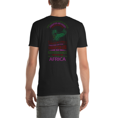 End Corruption in Africa Short-Sleeve Unisex T-Shirt - The Poacher Online