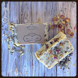 Delicate Flowers Soap, Wild Gypsy Soap Company