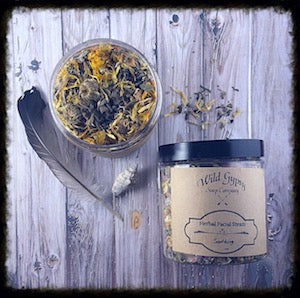 Soothing Herbal Facial Steam, Wild Gypsy Soap Company