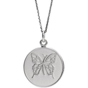 "Sterling Silver Loss of a Mother 18"" Necklace - Pranic Lifestyle"