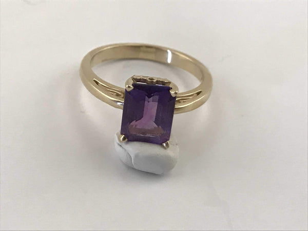 Amethyst Power Ring