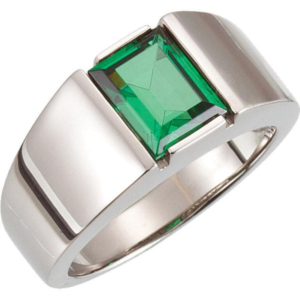 Green Emerald Power Ring - Pranic Lifestyle