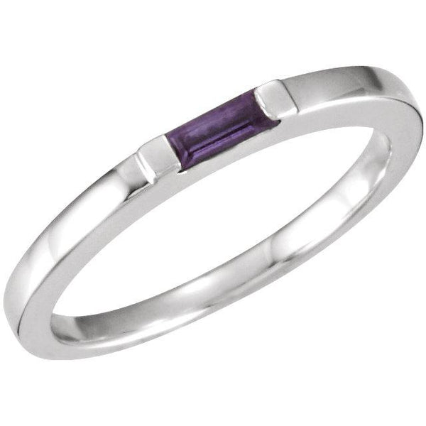 Amethyst Silver Power Ring - Pranic Lifestyle