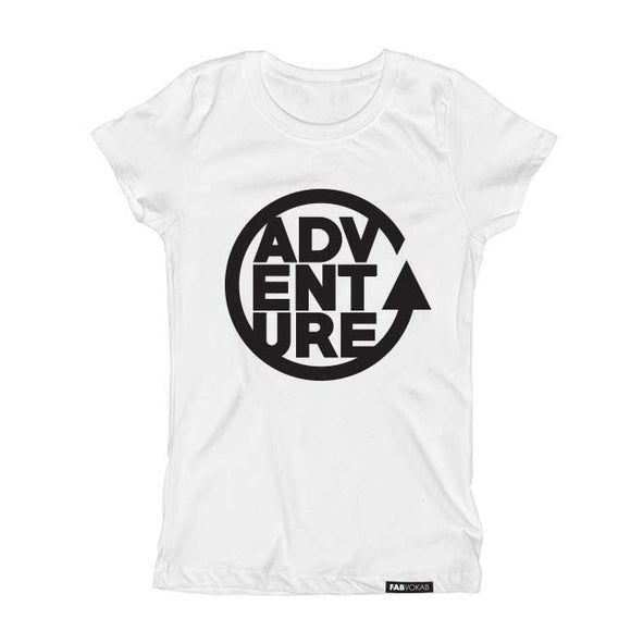 ADVENTURE Kids Short Sleeve graphic T-shirt - FABVOKAB