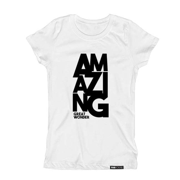 AMAZING Short Sleeve T-shirt - FABVOKAB