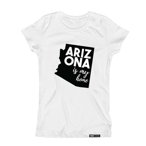 ARIZONA IS MY HOME Short Sleeve T-shirt - FABVOKAB