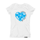 Nothing Can Stop ME Autism Awareness Short Sleeve T-shirt - FABVOKAB