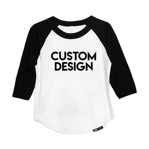 CUSTOM DESIGN KIDS RAGLAN - FABVOKAB