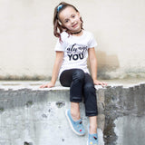 ALWAYS BELIEVE YOU CAN Short Sleeve T-shirt - FABVOKAB