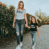 BE THE CHANGE T-SHIRT (MOMMY AND ME SHIRT) - FABVOKAB