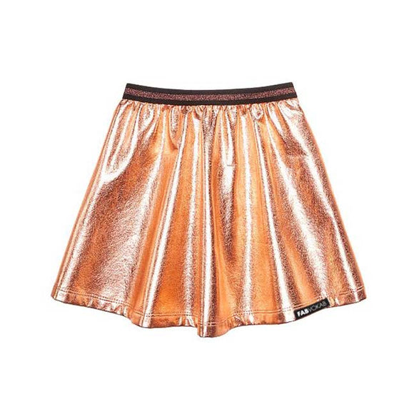 GOLD GIRLS SKIRT - FABVOKAB